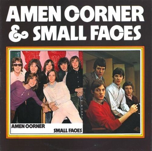 AMEN CORNER AND SMALL FACES Amen Corner And Small Faces Vinyl Record LP New World 1972